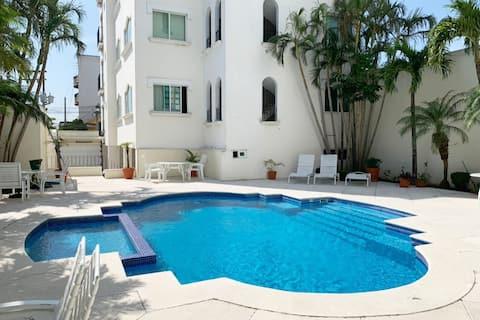 Impecable departamento amueblado  Boca del Rio