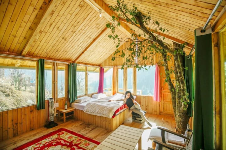 Treehouse| Where You See The Entire Valley| Tandi