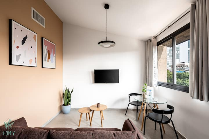 ALLENBY#12 classic modern Studio Apartment by Homy