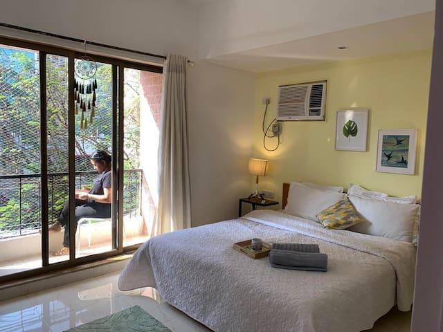 Beautiful Room with balcony | Bandra West