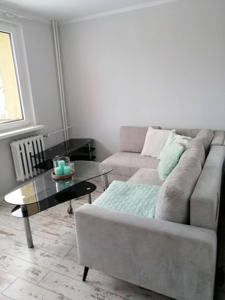 Apartament z balkonem blisko Zamku Książ
