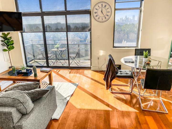 Buckhead Loft | Homey Vibes & Breathtaking Views