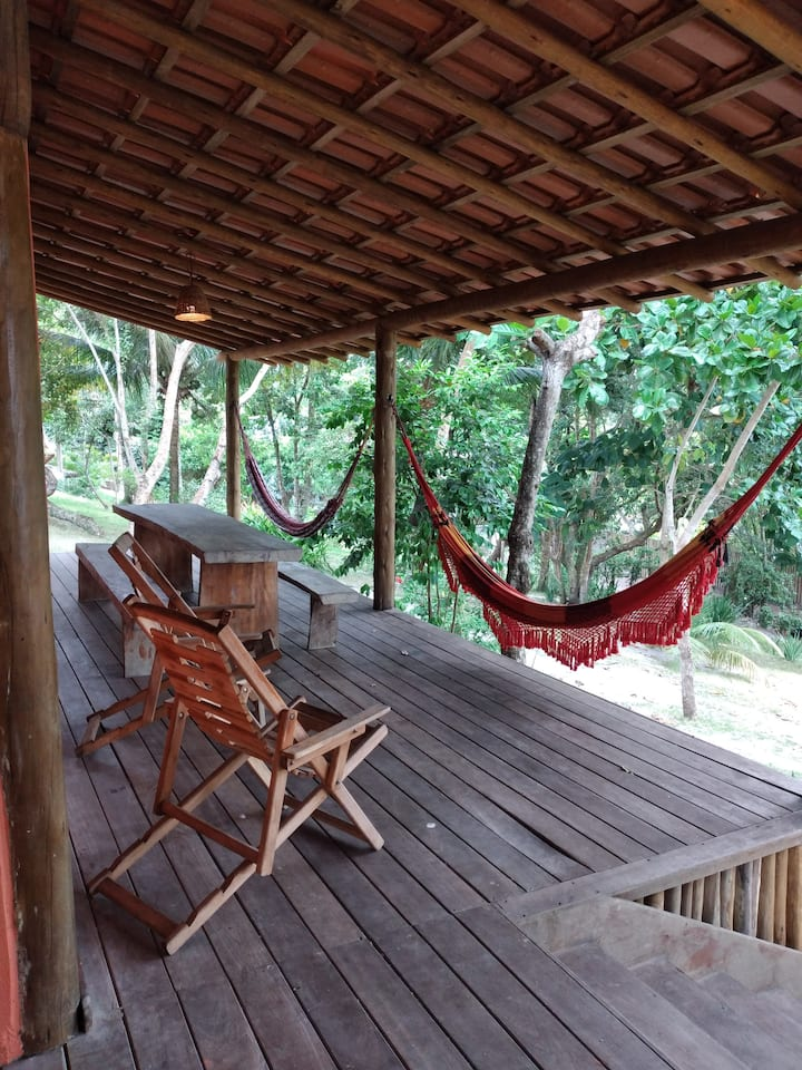 Casa com ótima localização em Caraíva Velha