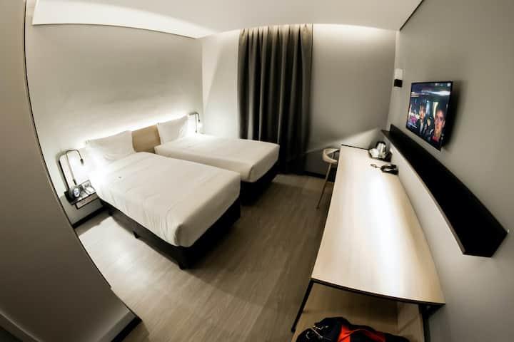 HOTEL DESIGN *Café da manhã - Wifi - SmarTV*