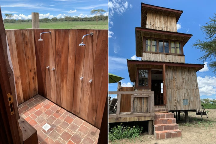 The Watch Tower - Romantic cabin at Sanctuary Farm