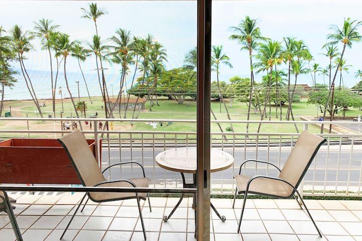 Ocean View condo at the Island Surf bldg in Kihei