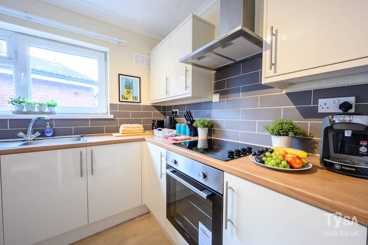 Cathays Heights, by Tŷ SA - Stylish Spacious 2 bed