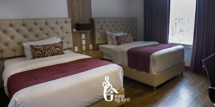 #26 Double Room BGA-F/blanca Colombia