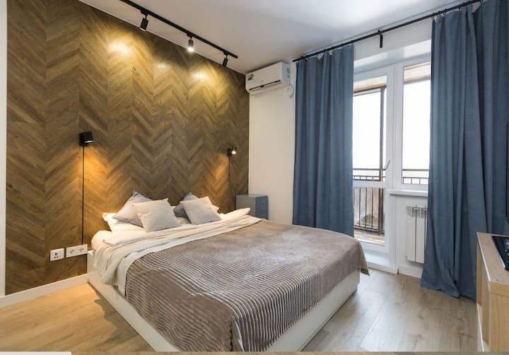 НОВАЯ Luxe квартира у Технопарка, сеть Welcome