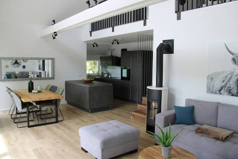 130 m2 Gallery apartment with wonderful view