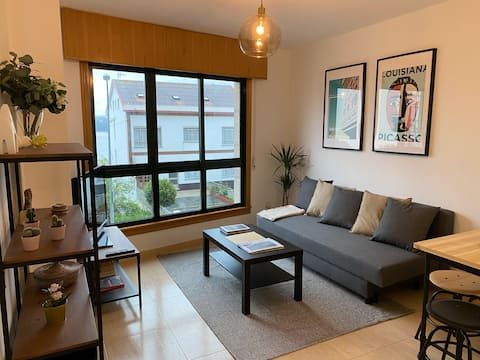 Cozy and bright new apartment 50m from the beach
