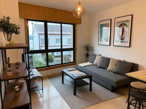 Acogedor y luminoso apartamento nuevo a 50m playa