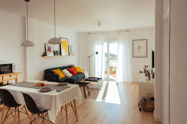 HORIA -Sundrenched apt. w/ terrace in Cabo de Gata