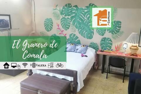 Duerme en El GRANERO, 1 Cama 1 Baño, WiFi,Céntrico