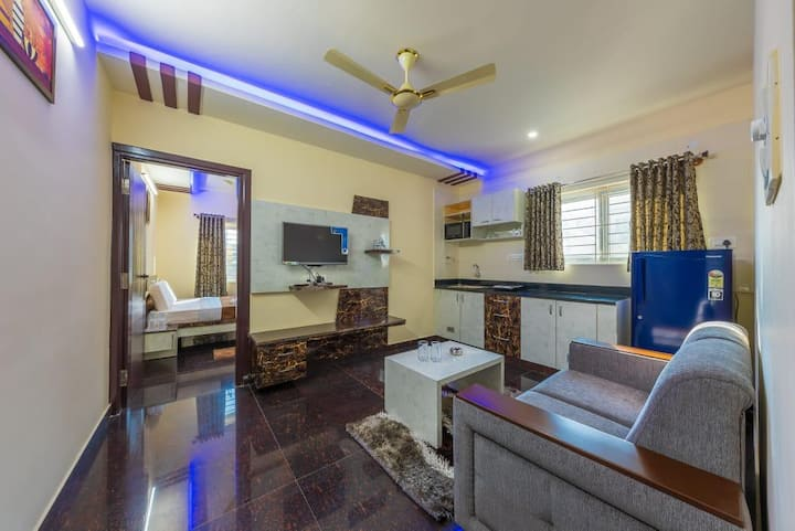 SREEJA 1BHK BOUTIQUE HOME 1🏠 (DOUBLE OCCUPANCY)