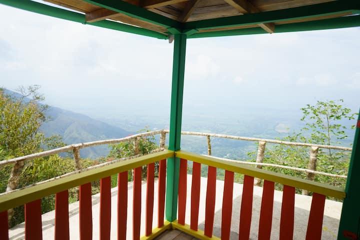 Fabulosa vista del Valle del Cauca