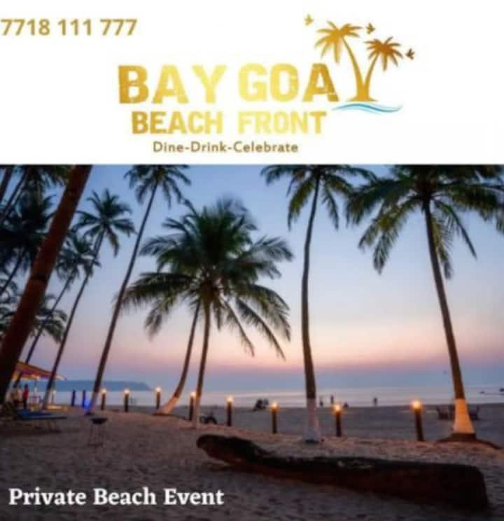 Goa Private Beach Camping W Dinner Drinks & BFast