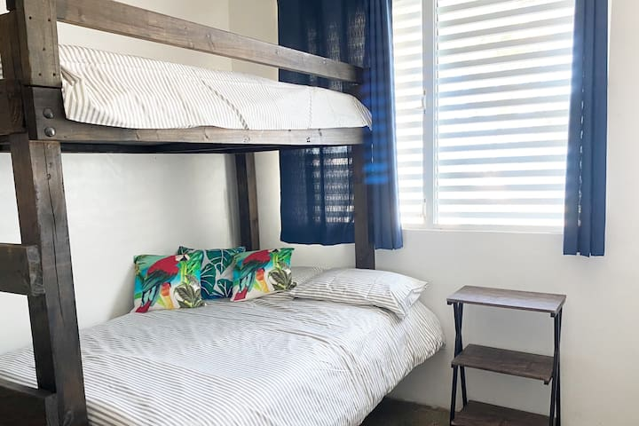 Bunk Bed - Room #1 - Full/Twin