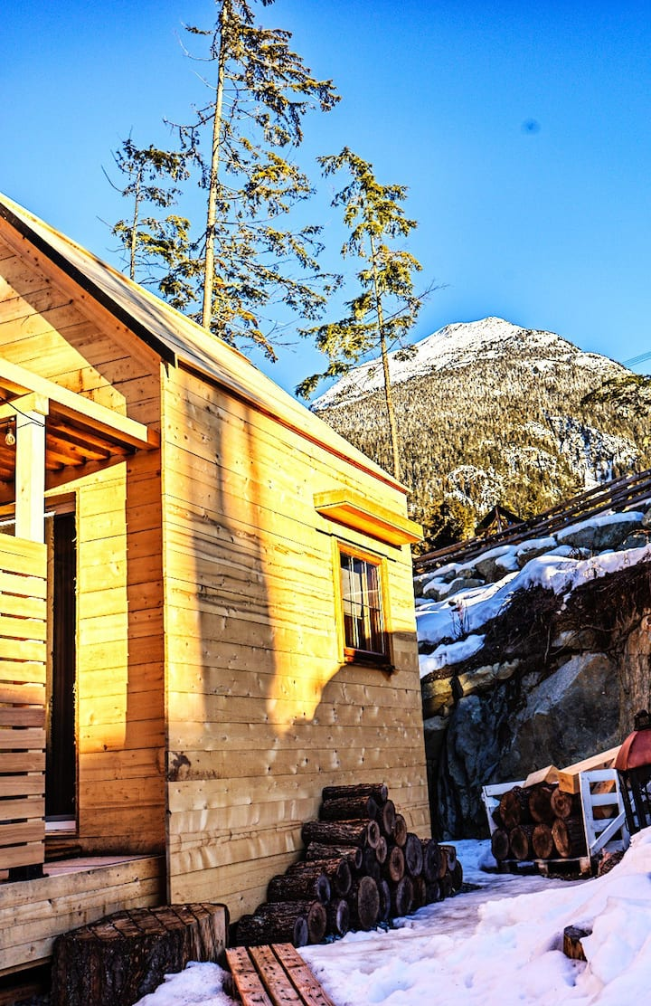 Wedge Mountain Cabin Whistler