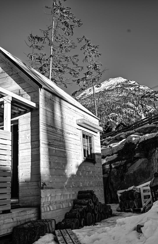 Wedge Mountain Cabin Whistler