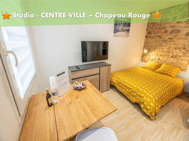 Charmand studio au centre-ville de Quimper