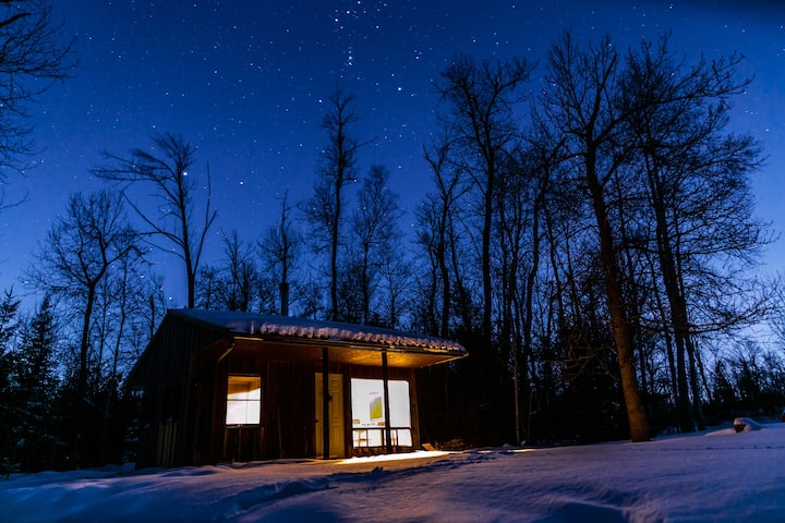 Tiny house in the big woods - rural camping