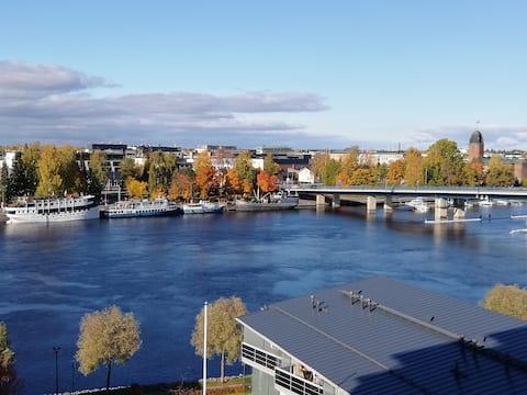 Flat with fantastic views over Joensuu