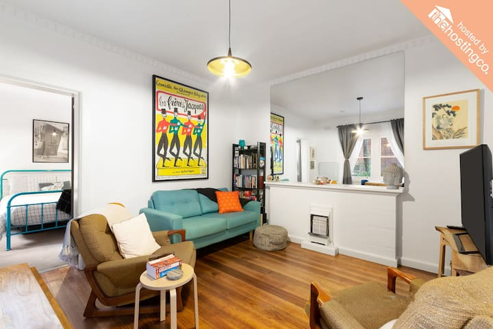 **AVAIL. FEB/MAR** Perfect Inner City Apartment