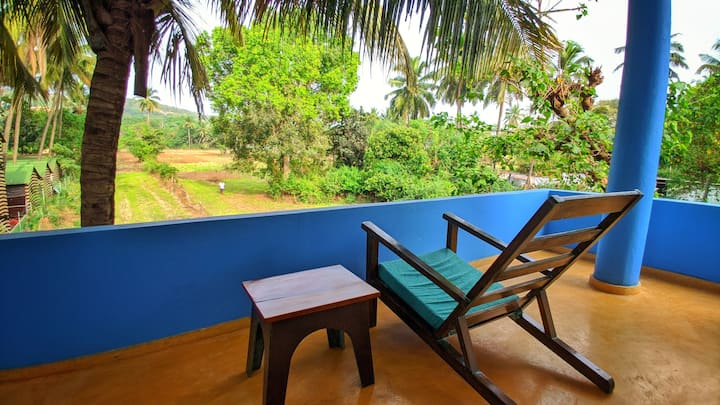 Holistic Retreat 2 BHK Apartment 200 Mtrs to Beach