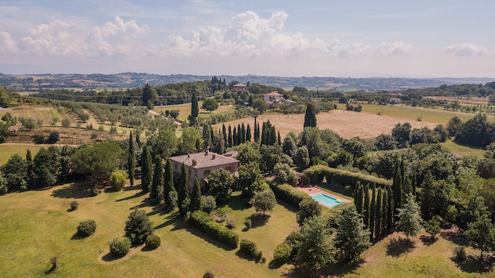Selve di Sotto, Tuscan villa with pool for 12 pax