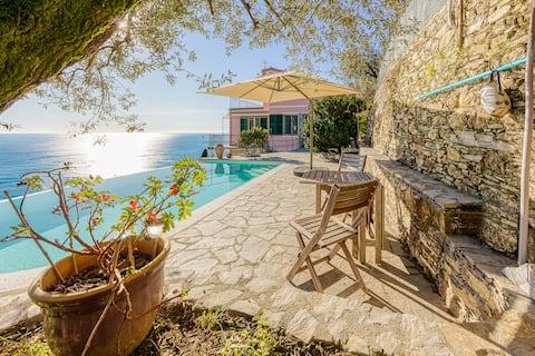 Apartamento trilo con piscina - Pieve Alta