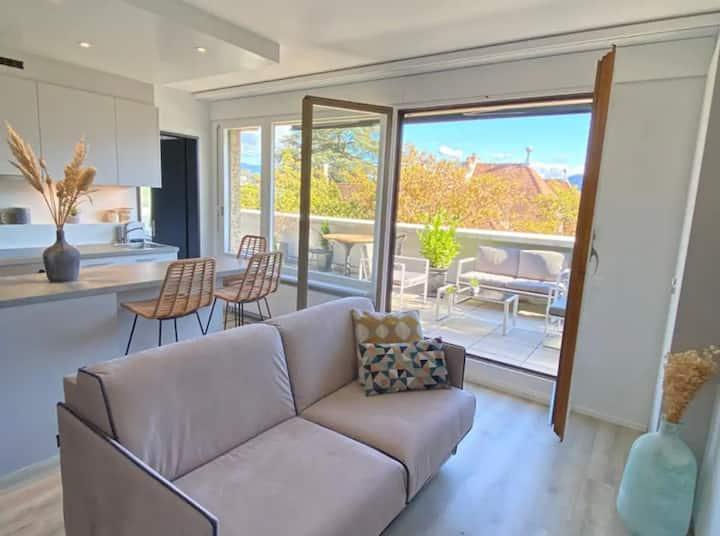 Magnifique appartement avec terrasse, un bijou !