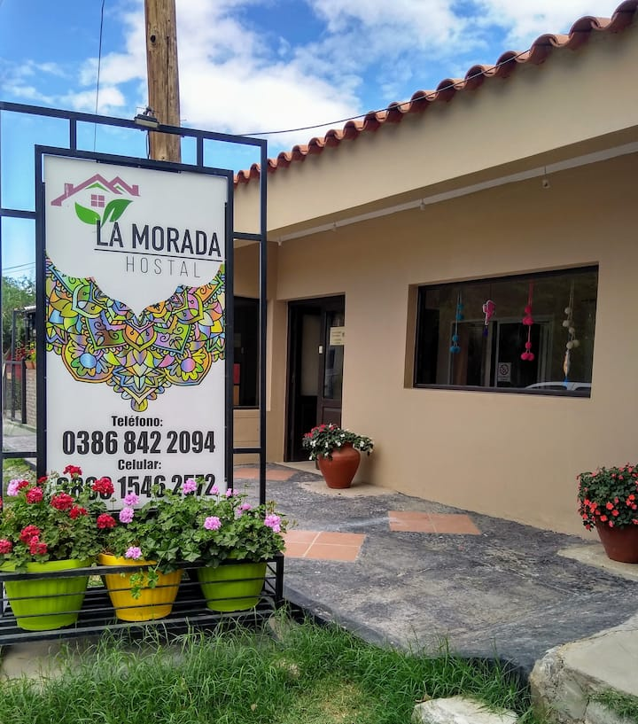 La Morada Hostal, un lugar simple y familiar