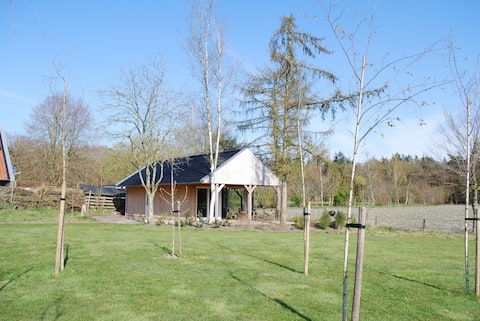 Freistehendes Haus Drenthe in der Nähe des Waldes.