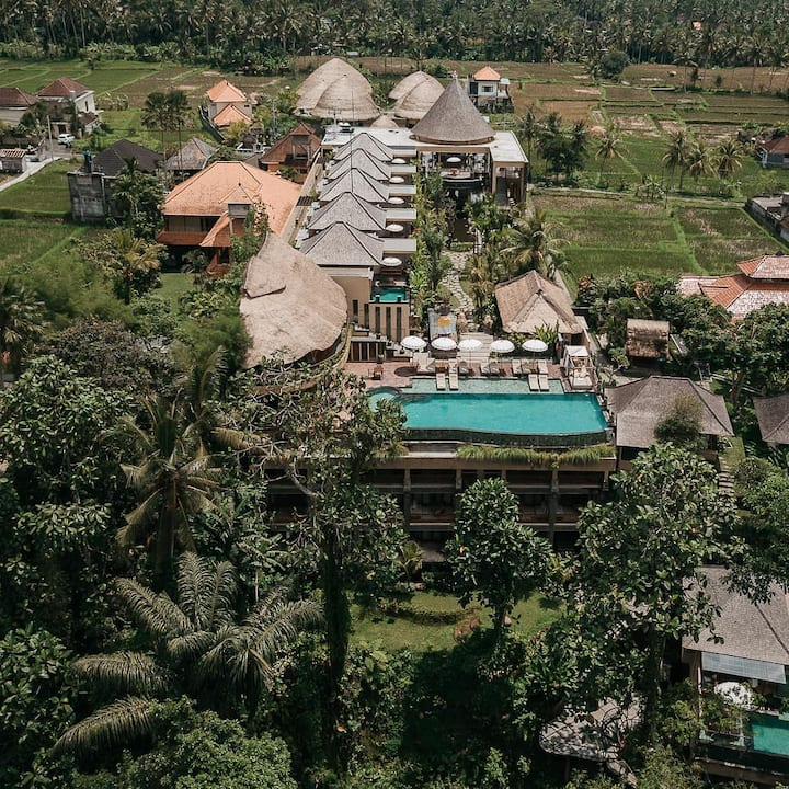 Alam Ubud the great Panorama