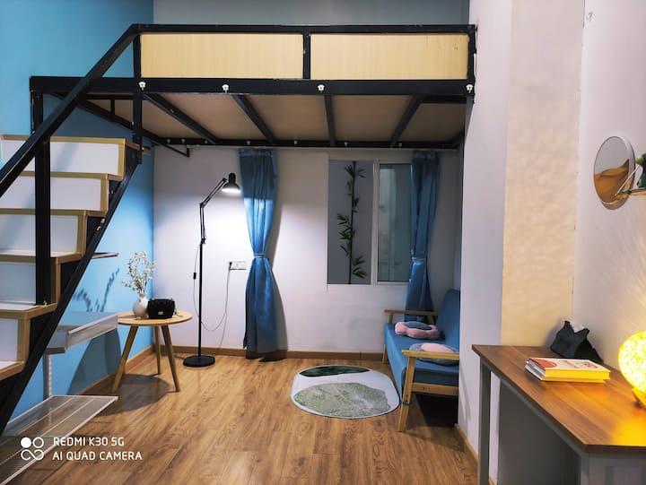 6折苏州站品牌loft公寓