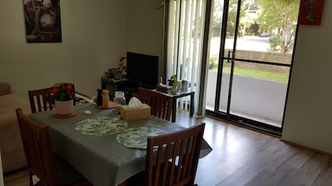 Private double bedroom in a quiet beautiful area