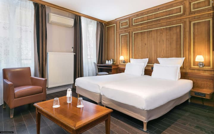Deluxe Double/Twin Room in the heart of Strasbourg