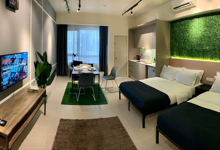 DOUBLE STUDIO @ Tamarind Vectoria Homes | 8 pax