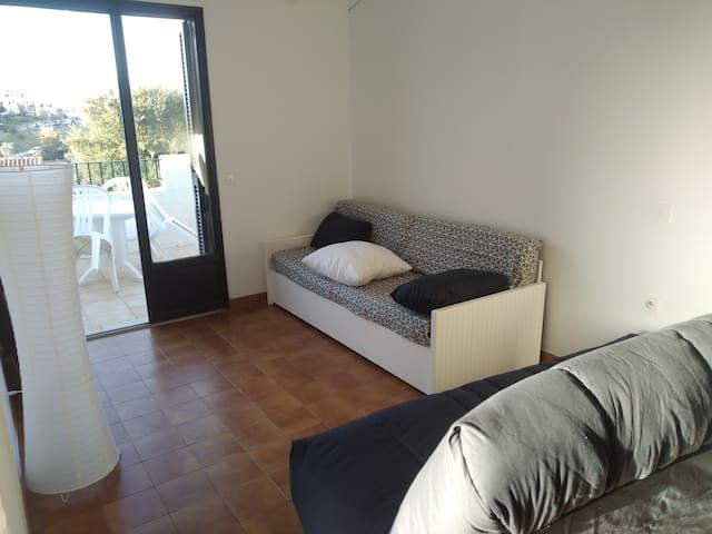 Clic clac avec bon matelas Dunlopillo + Canapé avec tiroir lit
