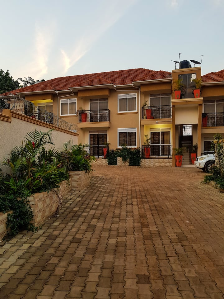 Modern and Peaceful Apartment in Kampala