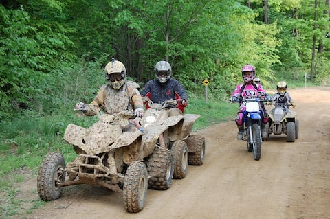 ATV MANIA STEP OUTSIDE THE DOOR AND RIDE THE TRAIL