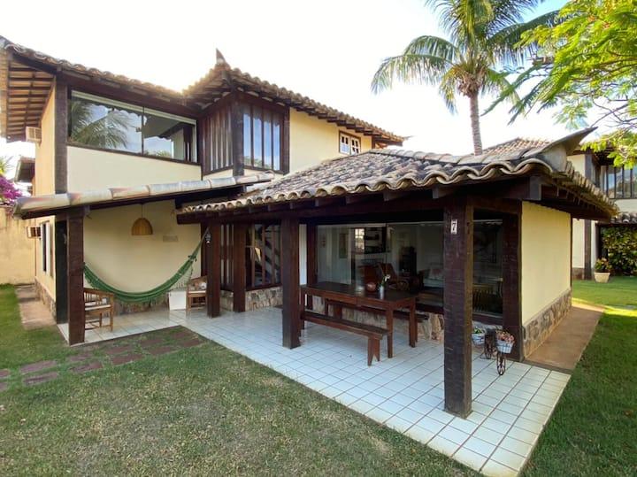Condominio Tahiti- 4 suítes 300mts da areia Geribá