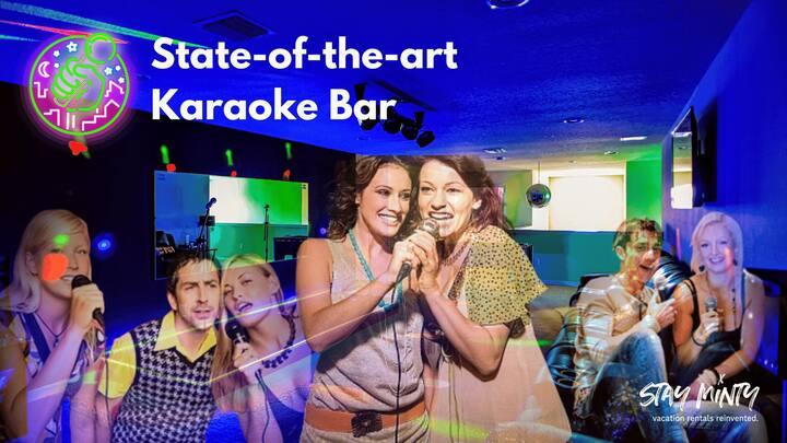 KC - Be a Star at Karaoke Castle w/ Stage & Lights