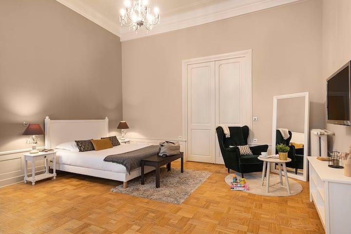 Suite Orphée avec services hôteliers