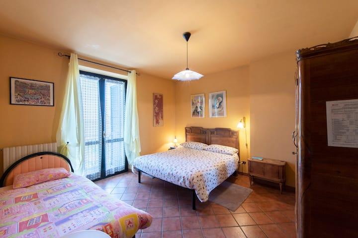 Camera Calla, tra Langhe e Monferrato