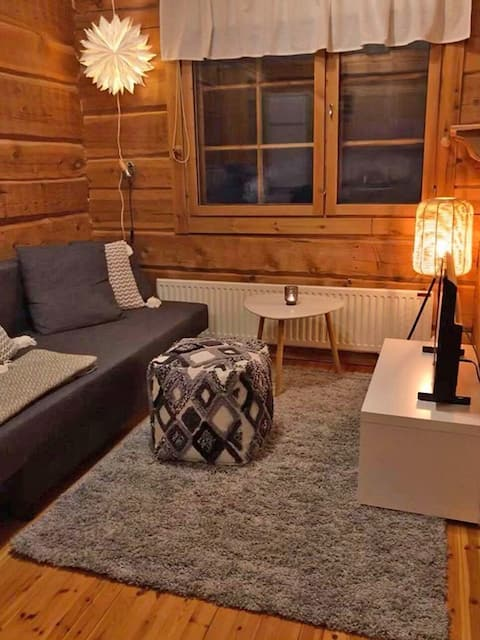 RUKA one room apartment 30 m2 for 4 with sauna