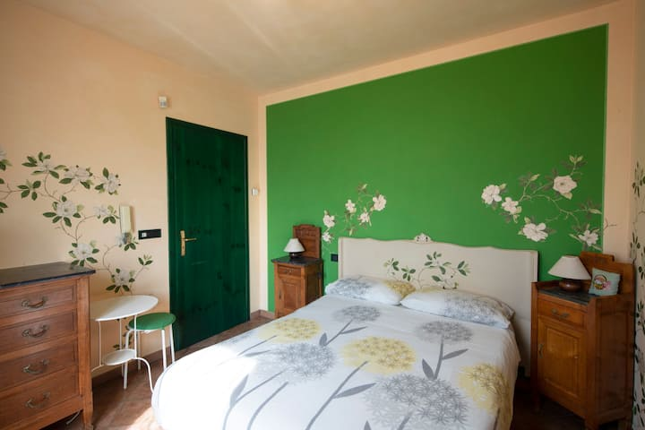 Room Magnolia, among Langhe and Monferrato