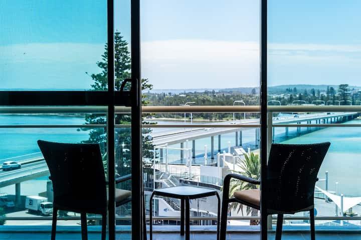 Resort-style Seaside Living w/ Ocean & Lake Views
