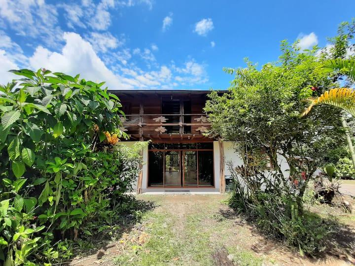 Casa paraíso en la selva
